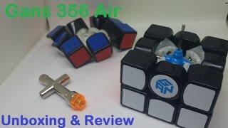 Unboxing/Review of Gan 356 Air Master 3x3 Speedcube