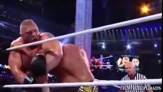 Wrestlemania 29 - Brock Lesnar vs Triple H Highlights