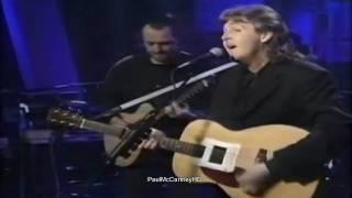 Paul McCartney - Michelle [HD] Up Close 1992