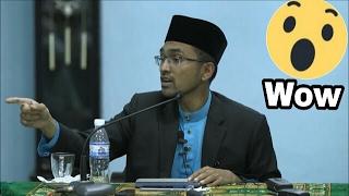 (PANAS) Jemaah yang hadir berdebat dengan Dr. Rozaimi semasa sesi soal jawab