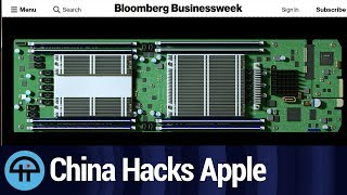 Chinese Chips Spy on Apple, Amazon, and US Government