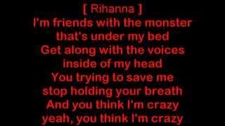 Eminem ft Rihanna The Monster Lyrics