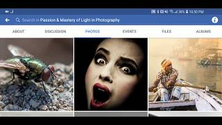 Facebook Page Passion & Mastery of Light In Photography