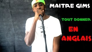 Maître Gims - Tout donner (Clip officiel) | ENGLISH COVER by Jimmy Worldwide