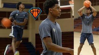 Louisville Bound Darius Perry Is Ready to Make a SPLASH as a Freshman!!   Workout w/ Nick Stapleton
