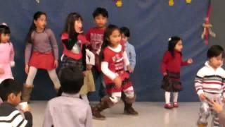 TGIF Christmas Party 2009: Filipino Kids of Kitchener Dance Number