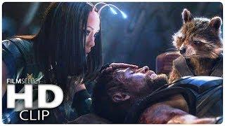 AVENGERS INFINITY WAR Thor trifft auf die Guardians Clip (German Deutsch) 2018