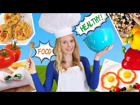 How to Cook Healthy Food 10 Breakfast Ideas Lunch Ideas & Snacks for School Work