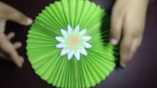 যেভাবে কাগজকে ভাঁজ করে বিভিন্ন ফুল তৈরি করা হয় ! Easy origami flower for beginners making.