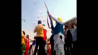 LIVE FIRING IN PUNJABI MARRIAGE