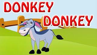 Donkey Donkey | Nursery Rhymes in English