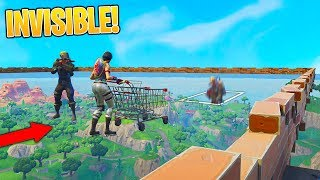 INVISIBLE SKYBASE DEATH ARENA (IMPOSSIBLE) Custom Gamemode in Fortnite Battle Royale