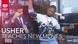 Usher Teaches New Dance Moves