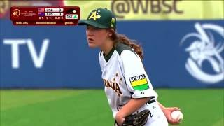 Australia v USA - LG Presents WBSC Women's Baseball World Cup 2016