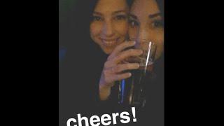 Ally & Stevie Snapchat 5-14