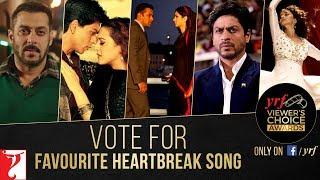 Favourite Heartbreak Song | YRF Viewer