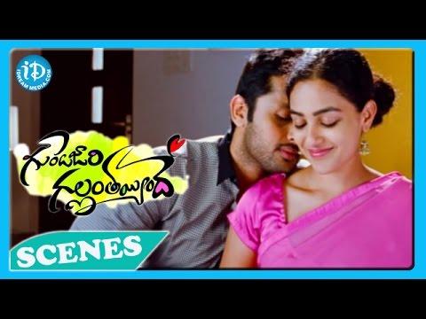 Xxx Mp4 Gunde Jaari Gallantayyinde Movie Nitin Nithya Menon Nice Love Scene 3gp Sex