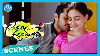 Gunde Jaari Gallantayyinde Movie - Nitin, Nithya Menon Nice Love Scene