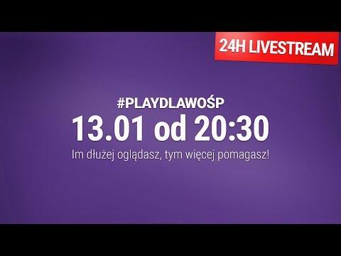 Xxx Mp4 Oglądaj I Pomagaj 24h Livestream Play Dla WOŚP 3gp Sex
