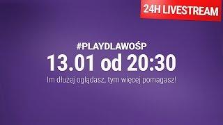 Oglądaj i pomagaj! 24h livestream Play dla WOŚP