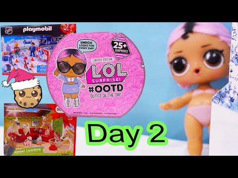 Xxx Mp4 Day 2 LOL Surprise Playmobil Schleich Animals Christmas Advent Calendar Cookie Swirl C 3gp Sex