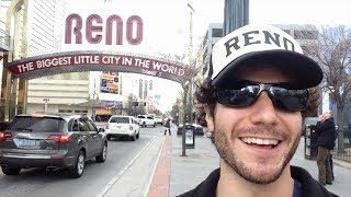 Overly Excited Tourist Finds Reno