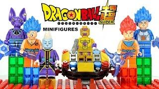 Dragon Ball Z God Edition Battle of Gods & Resurrection of F LEGO KnockOff Set 5