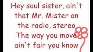 Train - Hey Soul Sister (Lyrics)