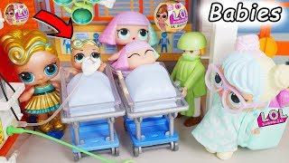 LOL Surprise! Dolls Lil Luxe Big Sisters DIY Custom Series 3 Baby Babysit Confetti Blind Bag Ball!