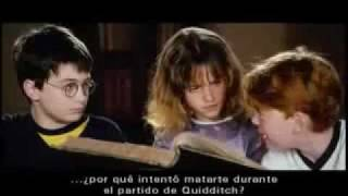 The Harry Potter trio's first screen test