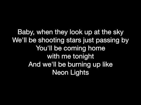 Demi Lovato Neon Lights w Lyrics