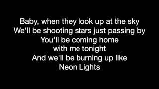 Demi Lovato - Neon Lights w/Lyrics