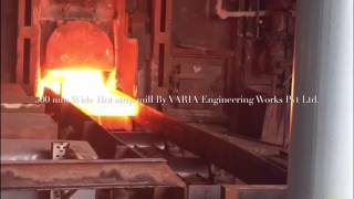 Rolling of hot strip VARIA