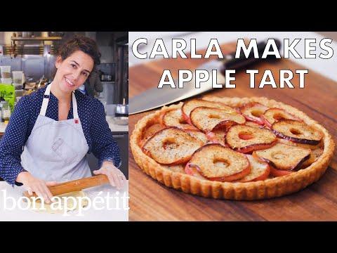 Carla Makes an Apple Tart From the Test Kitchen Bon Appétit