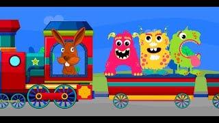 ABCD Alphabet Train song - 2D Animation Alphabet ABC Train Songs for children [Nursery Rhymes] 4k