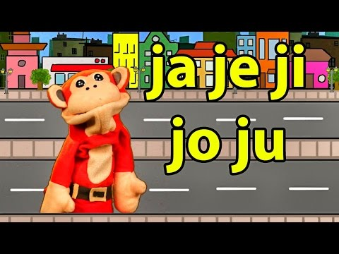 Xxx Mp4 Sílabas Ja Je Ji Jo Ju El Mono Sílabo Videos Infantiles Educación Para Niños 3gp Sex