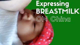 How To Expressing Breast On Breastfeeding Baby To Increase Milk Supply In China #Breastfeeding Tips