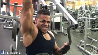 Hodgetwins Back & Shoulders Workout @hodgetwins