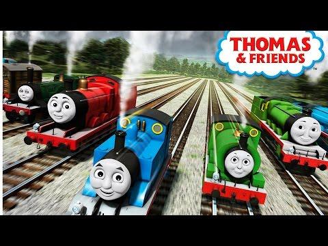 Thomas y sus amigos ¡Chú chú Velocidad del juego PERCY Episodios HD