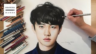 Speed Drawing EXO - D.O. [Drawing Hands]