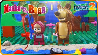 ♥ Masha and the Bear FOREST SUPERHEROES Saving Animals and Nature (Episode 8)