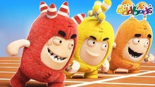 Oddbods NEW Episodes - HEAD START | The Oddbods Show | Funny Cartoons For Children