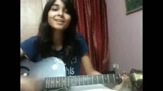 Bengli girl singing a hindi song Tere Bina Tere Bina Lagta Nahi Mera Jiya on Kal Kissne Dekha   2016