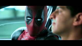Deadpool 2016 - Taxi driver Scene 1080p HD