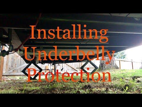 Xxx Mp4 RV Trailer Installing Underbelly Protection Part 1 3gp Sex