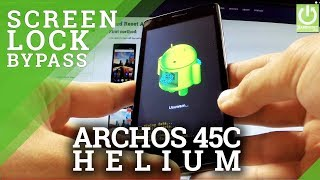 How to Hard Reset in ARCHOS 45c Helium 4G - Bypass Screen Lock