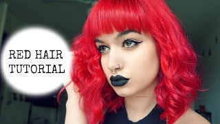 How To Get Red Hair | Evelyn Fernandez