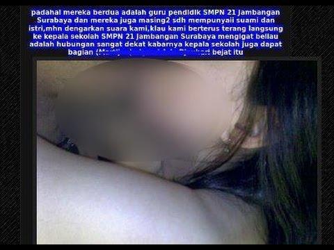 Heboh Foto Guru SMPN 21 Beradegan Panas di Surabaya