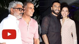 Deepika Padukone And Ranveer Singh RESPOND To Akshay Kumar's Padman Postpone Announcement