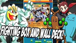 PTCGO New Machamp/Wall/Fighting Box Deck! Lots Of Surprise plays to be made!